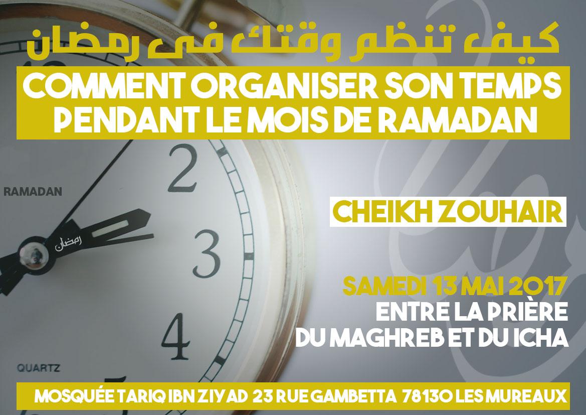 Comment organiser son temps pendant le ramadan ?